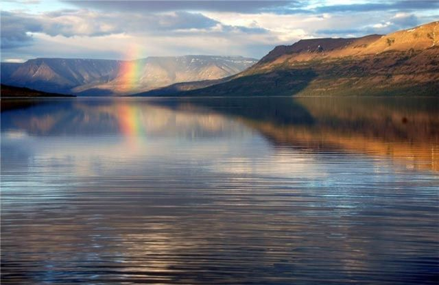 Озеро Таймыр. Россия