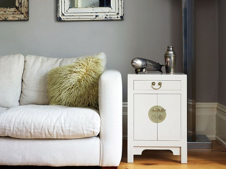 The Nine Schools small oyster grey cabinet