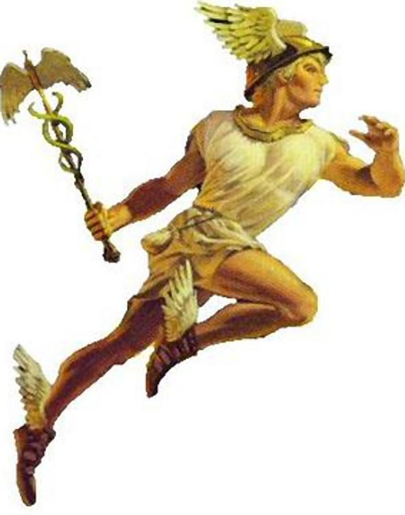 Hermod - The messenger of the gods. - Norse God