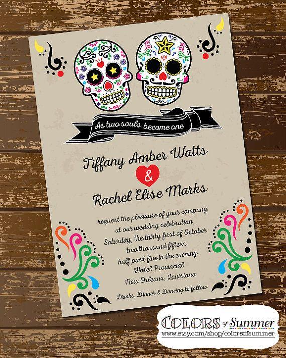 The 25 best Sugar skull wedding ideas on Pinterest Skull