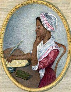 Phillis Wheatley, an 18th century African American poet