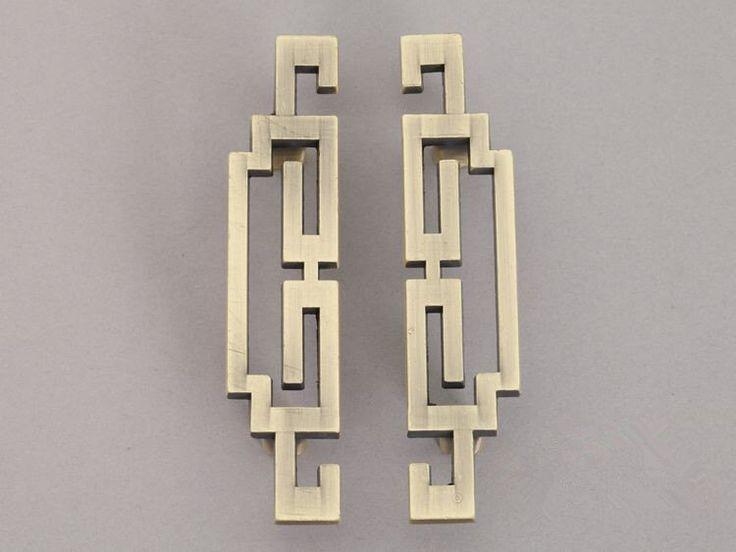 Pair of Vintage Style Cabinet Door Handles Pulls Antique Bronze Dresser Pulls Drawer Pull Handles Knobs Retro Furniture Handle Pull Hardware by ARoseRambling on Etsy https://www.etsy.com/listing/174691437/pair-of-vintage-style-cabinet-door