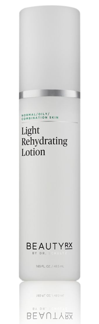 Oil-free and lightweight, appropriate for those with the oiliest and breakout-prone skin Formulated to not clog pores, and can even be used with combination skin Maximizes hydration with natural humectants, emollients, and other hydrophilic compounds Packed with antioxidants and BeautyRx antioxidant complex Triantiox to protect while hydrating Offering deep hydration in a lightweight product, the BeautyRx Light Rehydrating Lotion offers moisture for those who struggle with excess oil or…