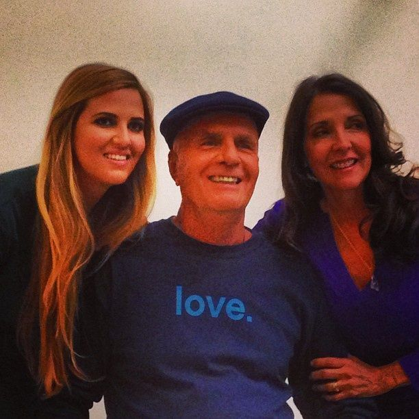 wayne dyer wife - third wife, Marcelene and daughter, Serena