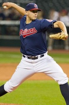 Justin Masterson was named the Cleveland Indians Opening Day 2013 starter by Manager Terry Francona on Tuesday, Feb. 26, 2013.