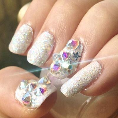 75 best images about luminous nails on pinterest black for Acrylic nails salon brisbane