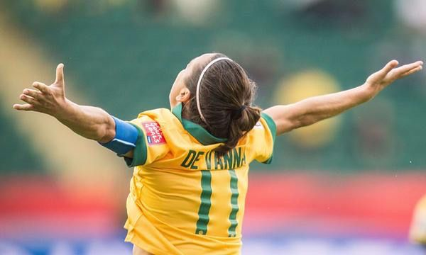 Lisa De Vanna & the Matildas gave it everything at the Women's World Cup but Japan was too strong, too skilled and too technically perfect on the day. Congratulations to them. Thanks to the Matildas. See you at Rio 2016. 28.06.15