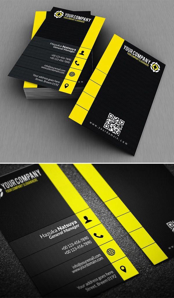 Modern Corporate Business Card Graphic Design Business Card Business Cards Creative Business Card Logo Design