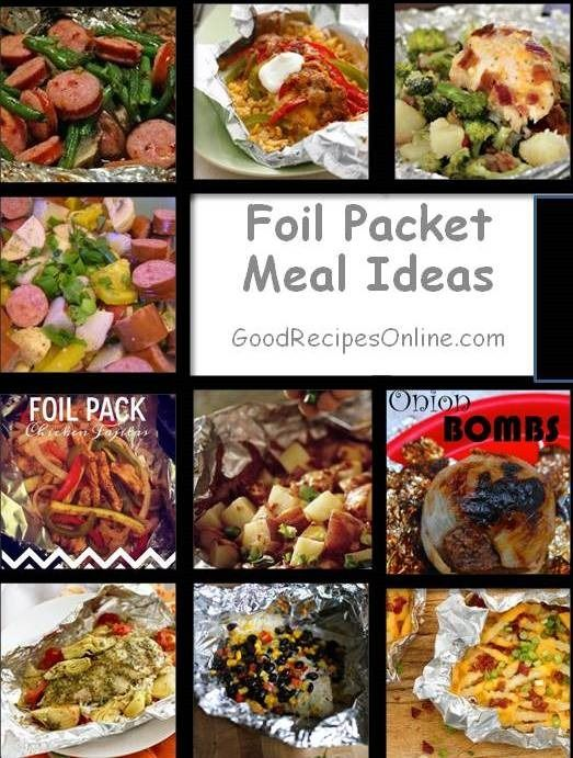 Foil Packet Meal Ideas