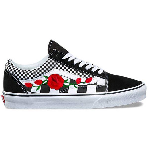 vans shoes for women flower