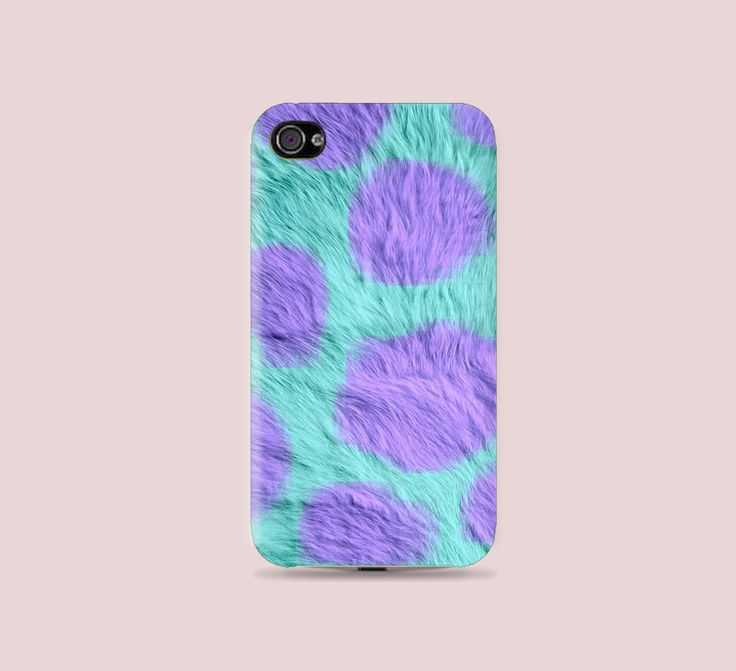 MU Collections Sulley Fur iPhone Case: