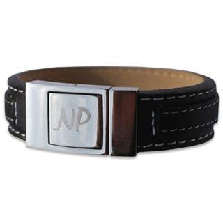 Bracelet pour homme en cuir personnalisé #bracelet #personnalisation