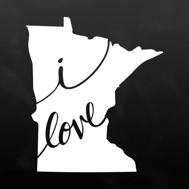 Minnesota vinyl decal sticker