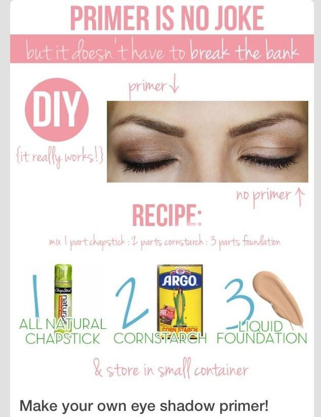 DIY: Eye Shadow Primer
