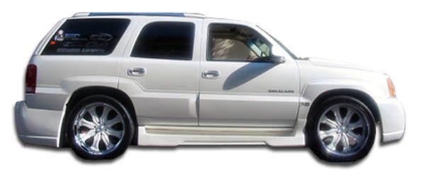2002-2006 Cadillac Escalade Duraflex Platinum 2 Side Skirts Rocker Panels - 2 Piece (Will not fit EXT ESV)