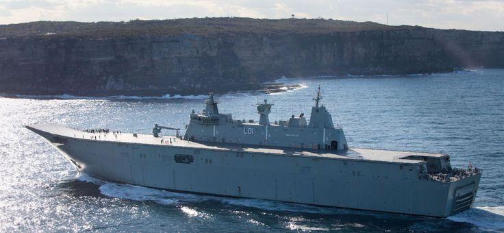 L'Australie déploie ses navires pour une guerre contre la Corée du Nord et une confrontation avec la Chine  LES VASSAUX EN PREMIERE LIGNE POUR ASSASSINER LE PEUPLE DE COREE