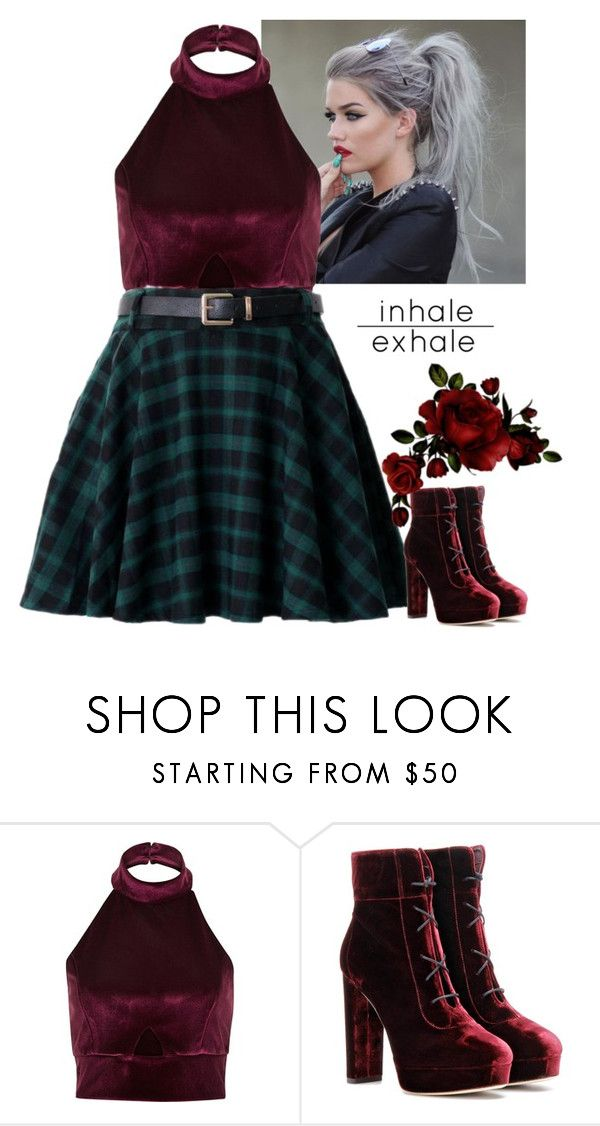 """""...I lost a bet to a guy in a chiffon skirt...but I make these high heels work…"""" by lifesucks-musichelps ❤ liked on Polyvore featuring River Island and Jimmy Choo"