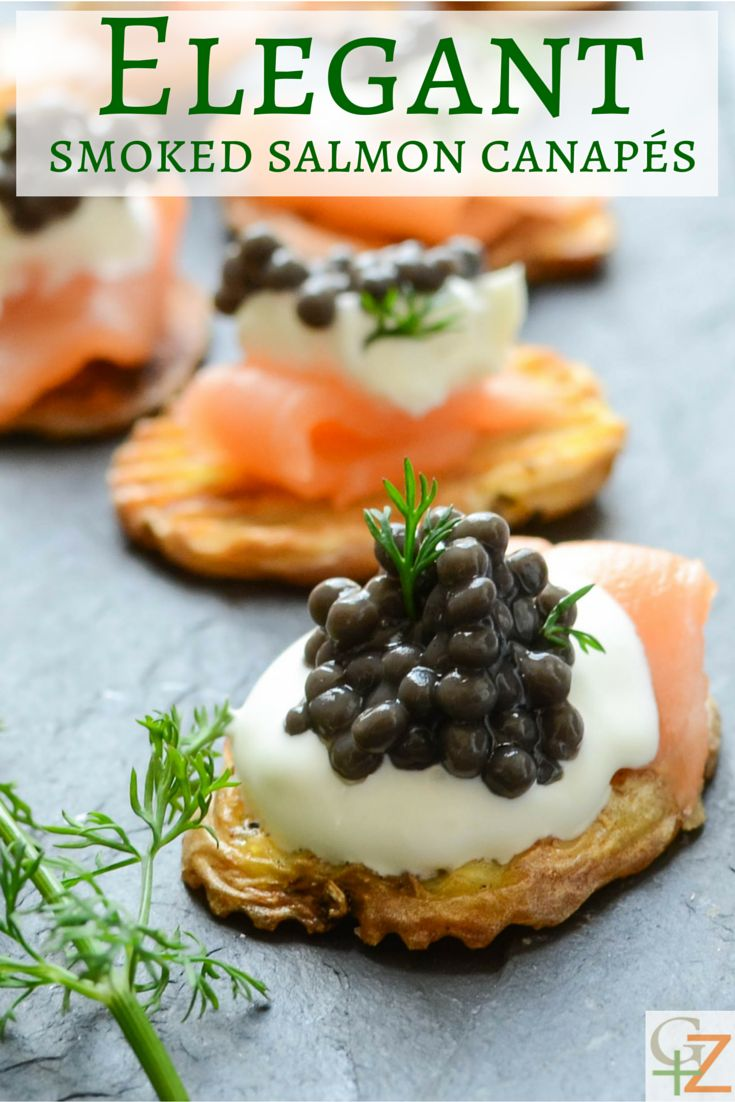Best 25 Salmon canapes ideas on Pinterest