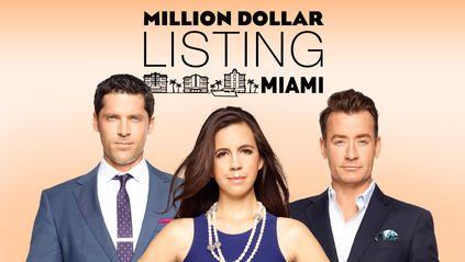 Million Dollar Listing Miami on Bravo Tv - Chad Carroll, Samantha DeBianchi & Chris Leavitt
