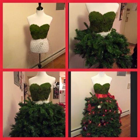 Tutorial Árboles de Navidad con faldas, un estilo fashionista. #ArbolesDeNavidadFashionistas