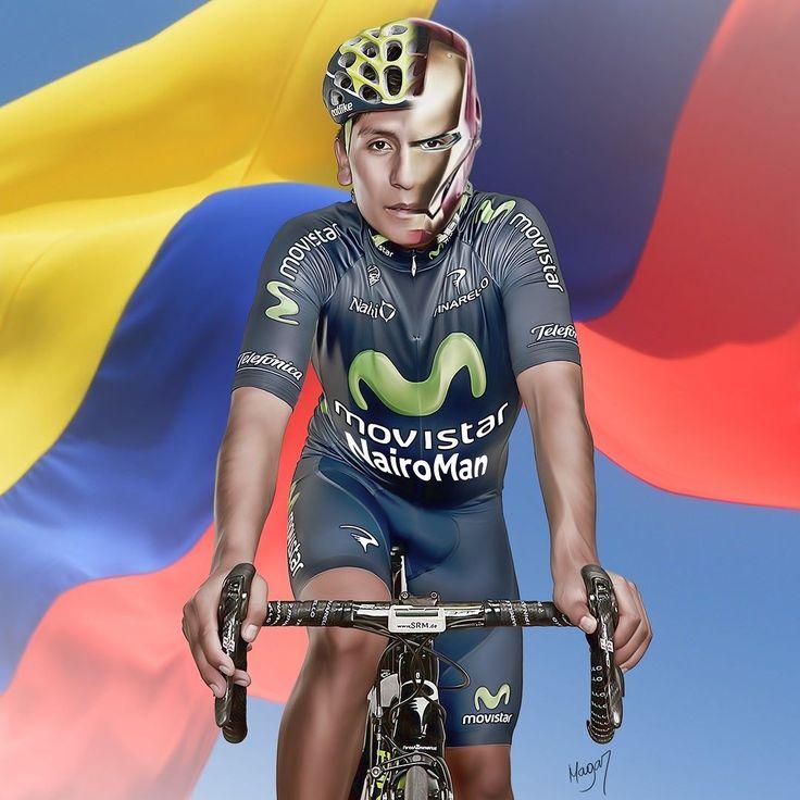 Nairo Alexander Quintana Rojas (4 de febrero de 1990 Tunja Boyacá) es un ciclista profesional colombiano. Ganador del Giro de Italia (2014) siendo el primer colombiano y latinoamericano en obtener este título. Campeón de la Vuelta a España (2016) 2 veces subcampeón del Tour de Francia (2013 2015) y 1 vez tercero del Tour de Francia (2016). Actualmente corre para el equipo español de categoría UCI WorldTeam el Movistar.  En el 2016 logra su temporada más destacada de su carrera deportiva ya…