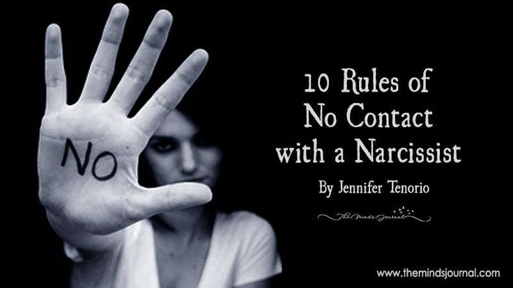 no contact rule in relationships