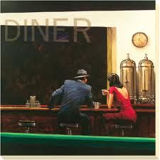 Edward Hopper  Come take dinner with me  Lets make som fun and let a lot of things just be