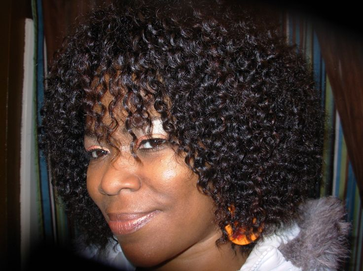 Curly Wig Hairstyle For Black Women