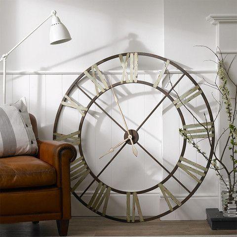 giant iron wall clock