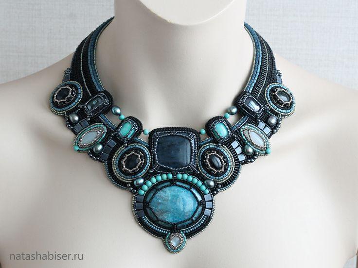 NatashaBiser.ru - украшения из бисера, украшения ручной работы, купить украшения, продажа украшений - Колье (0350)