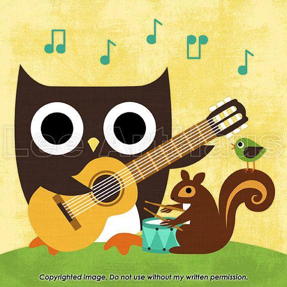 14 best Music Nursery images on Pinterest   Music nursery, Child ...