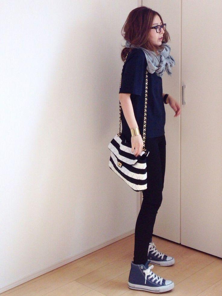 mayumiさんのTシャツ/カットソー「MOROKOBAR イタリアンポンチタキシードTOP」を使ったコーディネート