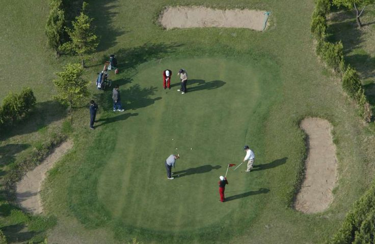 Weird and wonderful claims about the North Korean Kim dynasty  -  March 13, 2017:     Chinese tourists play golf at a golf course in the North Korean capital of Pyongyang in this picture... - REUTERS/Lee Jae-Won/Files