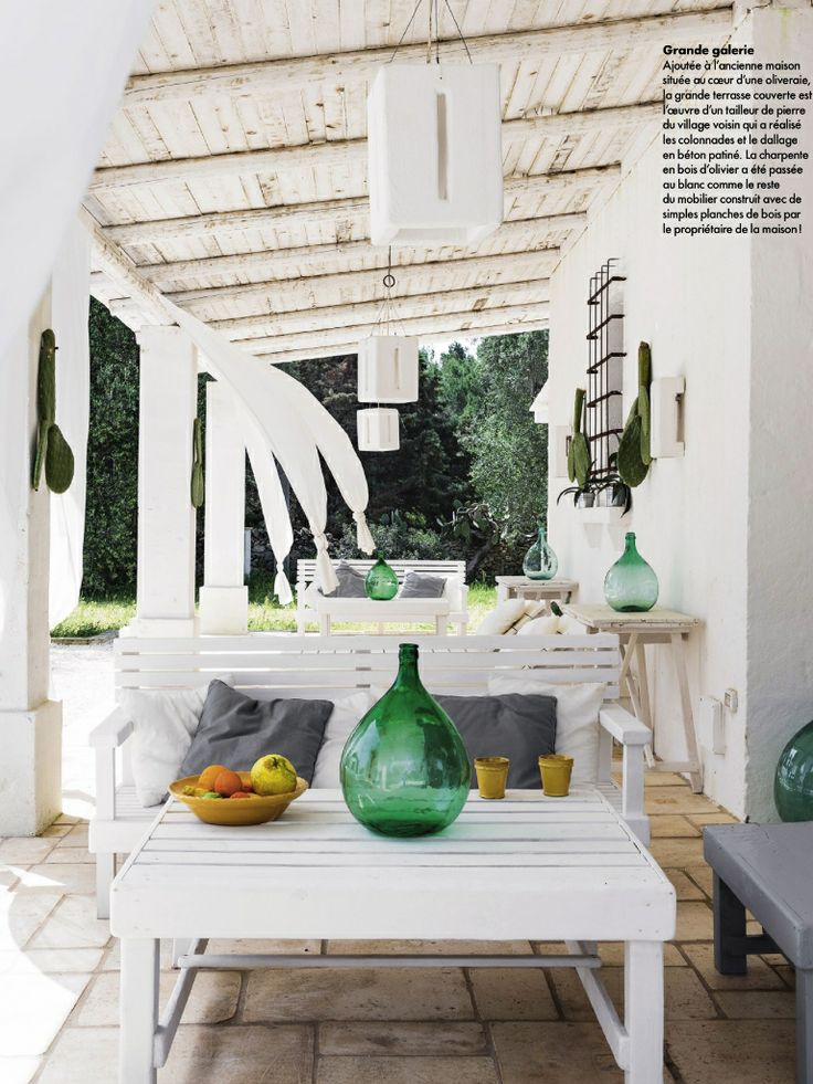 Elle decor france exteriors exteriores pinterest for Elle decoration france