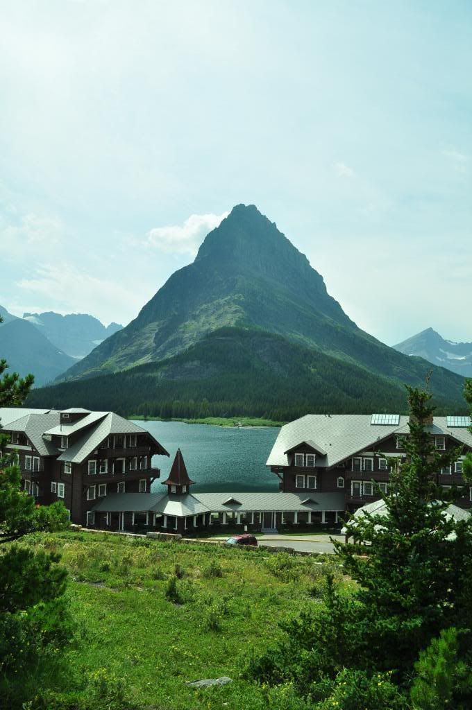 Glacier National Park Photo:  Many Glacier Hotel.   Fav spot dock out back