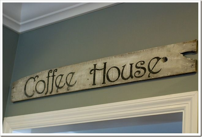 Awesome tutorial for old looking signs from pallet boards.