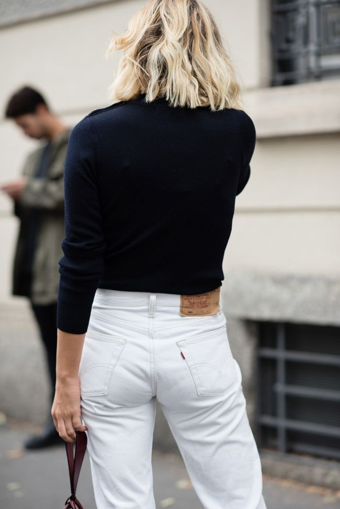 125 best images about Stylish Things- White Jeans on Pinterest ...