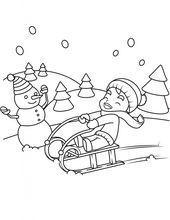 kostenlose malvorlagen zum ausdrucken winter für kinder - jahreszeiten malvorlagen