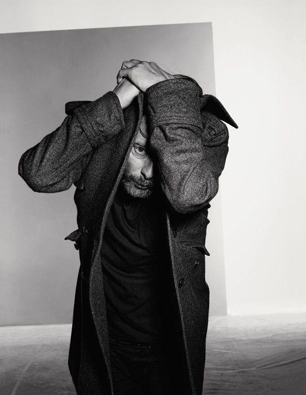 Thom Yorke photographed by Richard Burbridge for Dazed & Confused February 2013