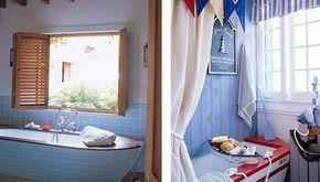 Интерьер в морском стиле - Ярмарка Мастеров - ручная работа, handmade