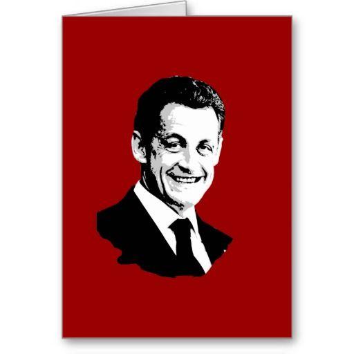Nicolas Sarkozy Greeting Card