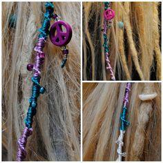 How to make a dreadlock wrap / hair wrap By http://www.dreadstuff.com