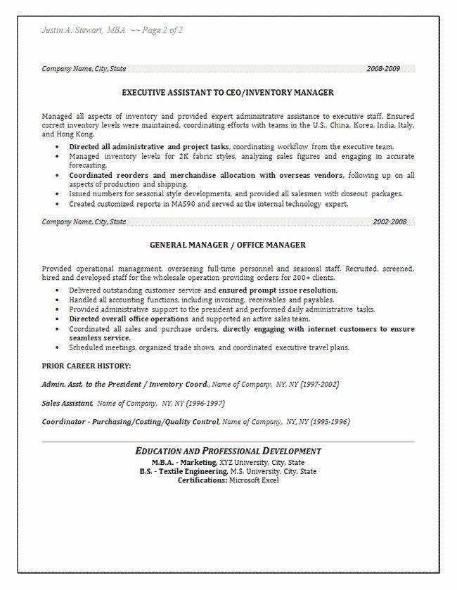 Stock Job Description Resume Luxury Inventory Resume Example