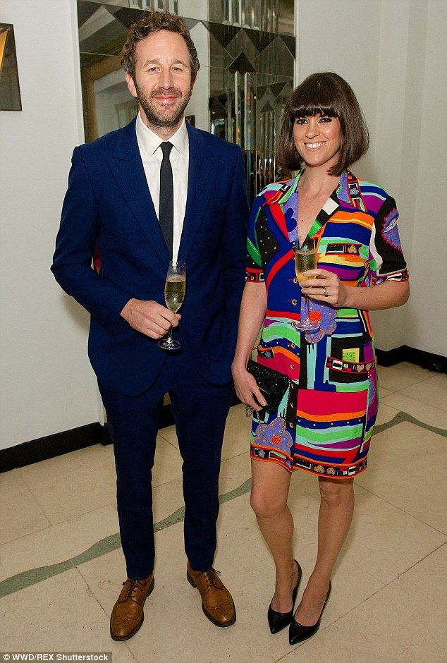 Long-term love: Fellow A-list couple Dawn O'Porter, 36, and her Irish actor husband Chris ...
