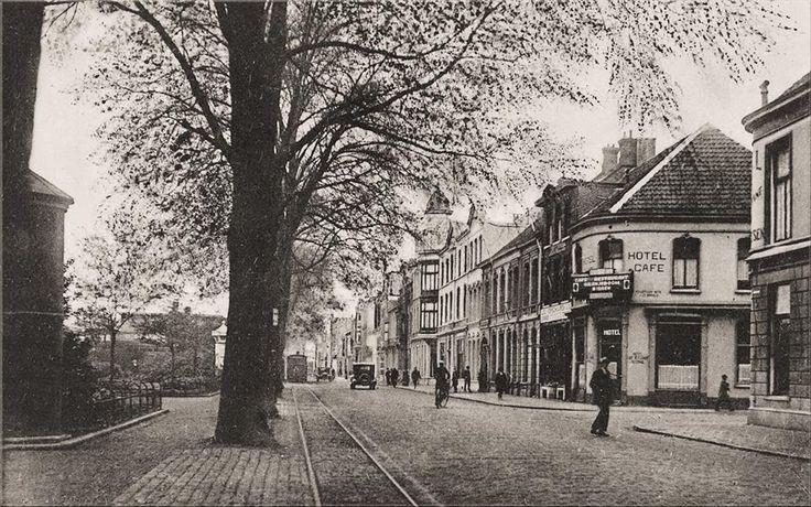 Spoorlaan uit 1935.