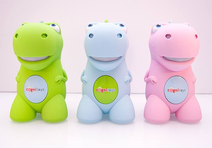 Throwback to when the pink, blue and green colors of the CogniToys Dinos were released to the CogniToys Community. Which color is your favorite?