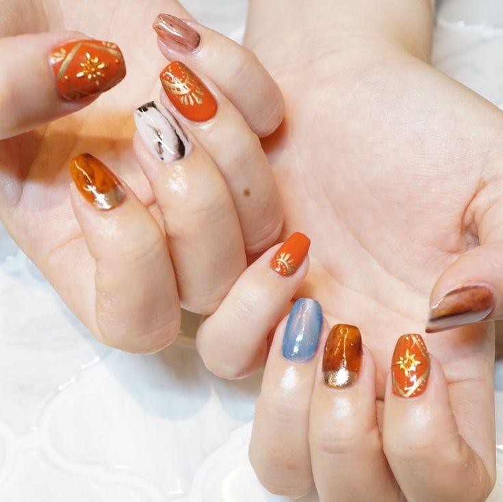 お客様ネイル🙏🏼💓. . #nail#gelnail#gelnails #sculpture #instanail #…
