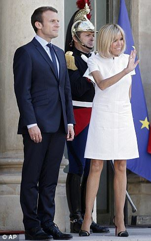 Macron, 39, said the US had made an historic error by abandoning the accord and announced his intention to launch a website raising awareness of climate issues  Read more: http://www.dailymail.co.uk/news/article-4585964/Macron-unveils-Make-planet-great-website.html#ixzz4jT3U1WAw