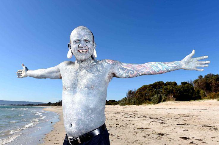 Lucky Diamond Rich est officiellement l'homme le plus tatoué du monde.