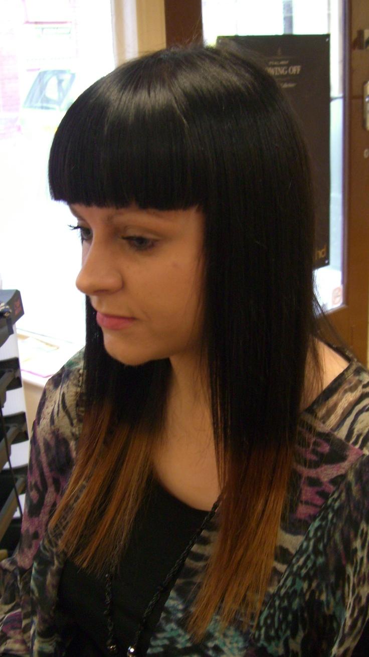 Extreme Ombre Hair Colour Quot Bangs Quot Pinterest Ombre Hair Color Ombre Hair And Hair Coloring